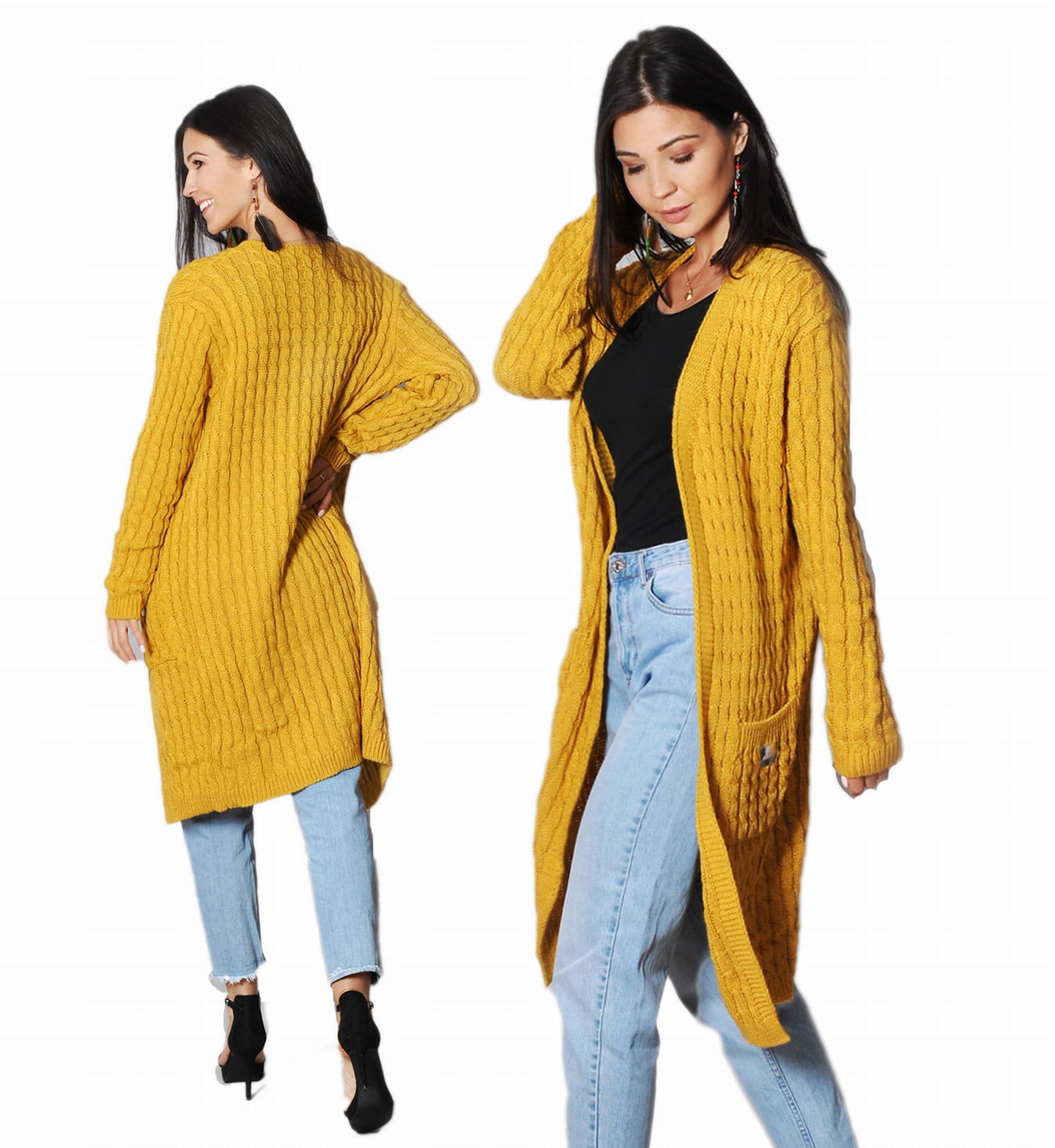 Swetry damskie i długie kardigany. Ciepłe i stylowe – sklep